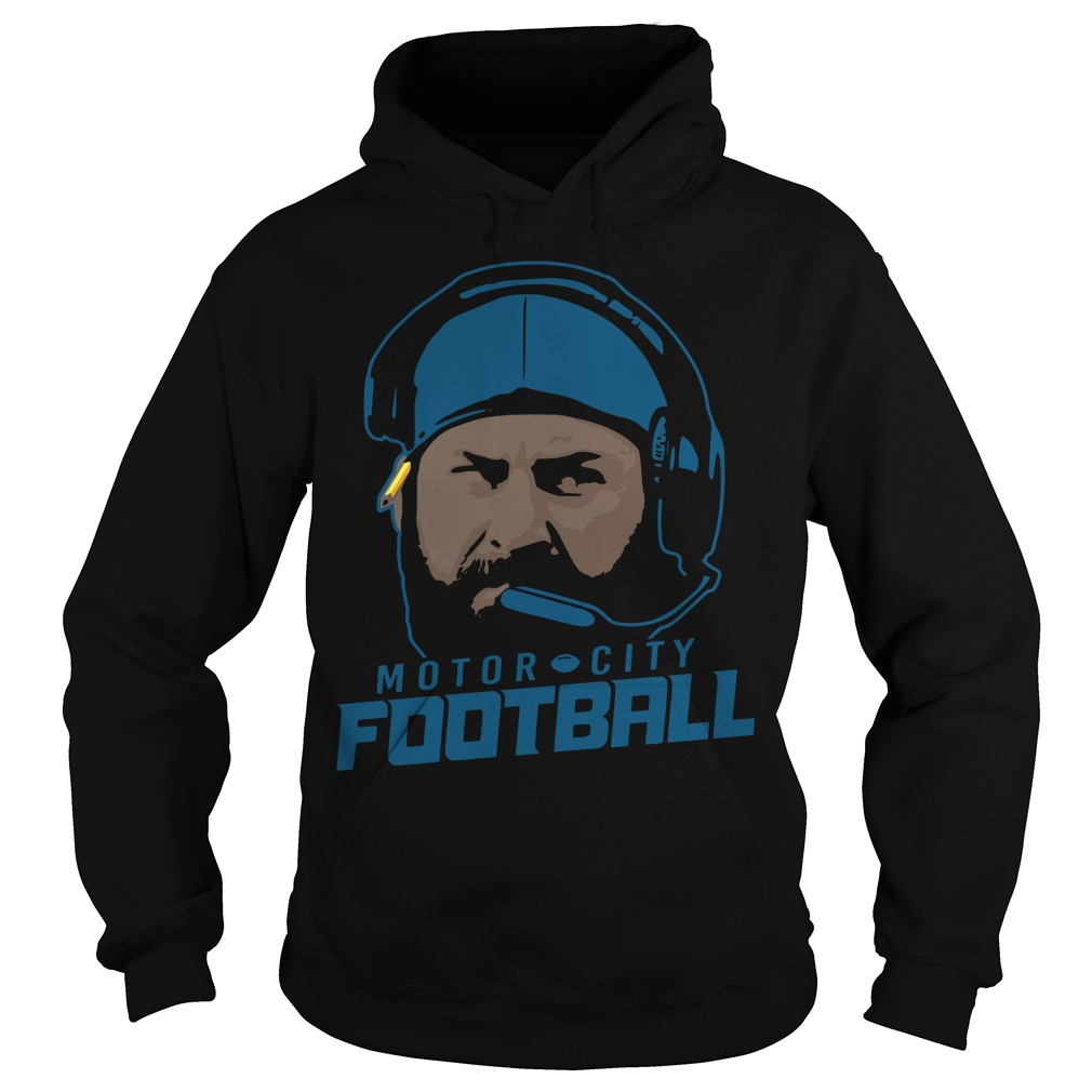 Motor City Football Hoodie