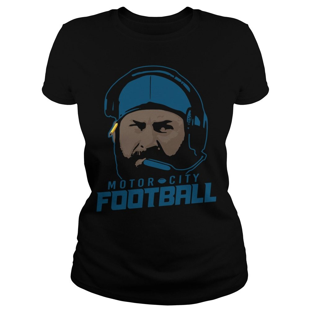 Motor City Football Ladies Tee