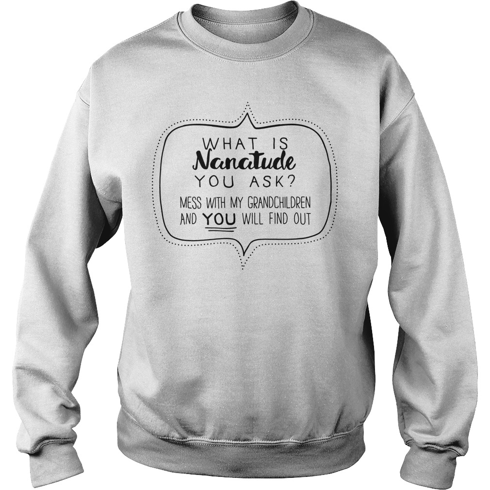 Nanatude Ask Mess Grandchildren Sweater