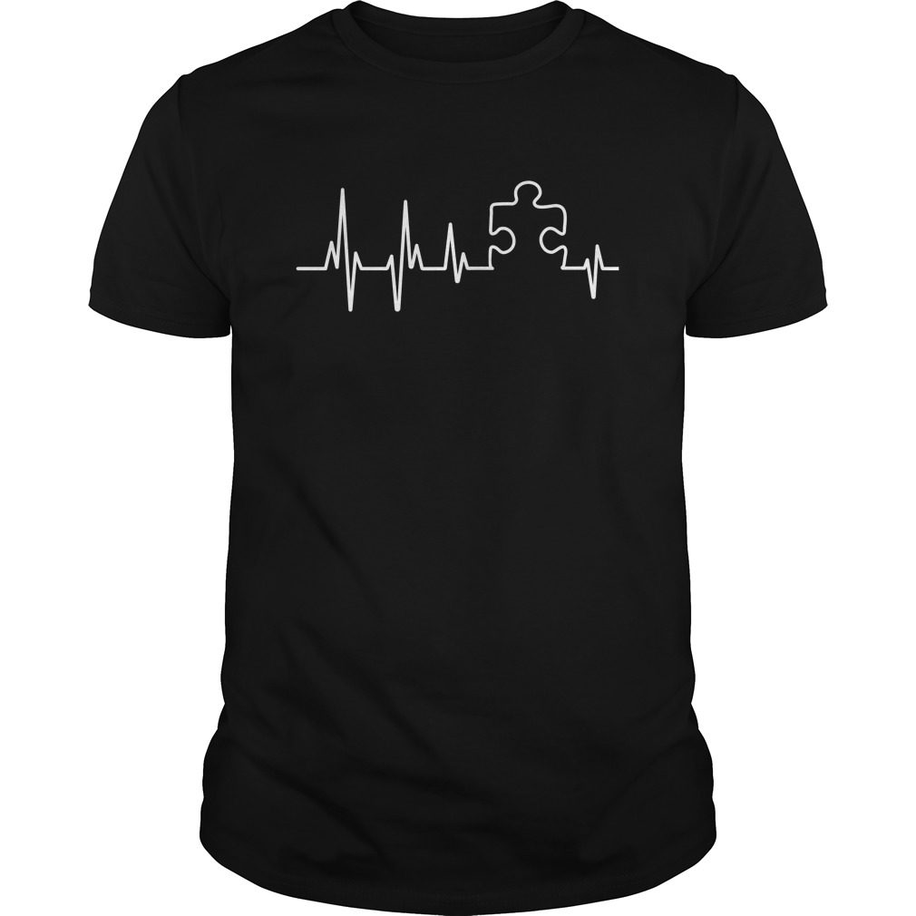 Official Autism Heartbeat Shirt