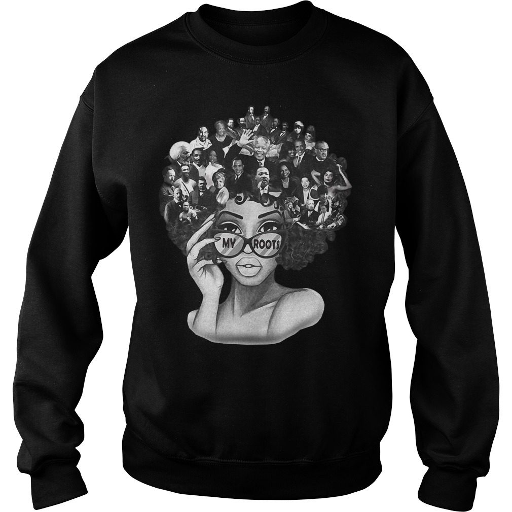 Official Black History Roots Sweater