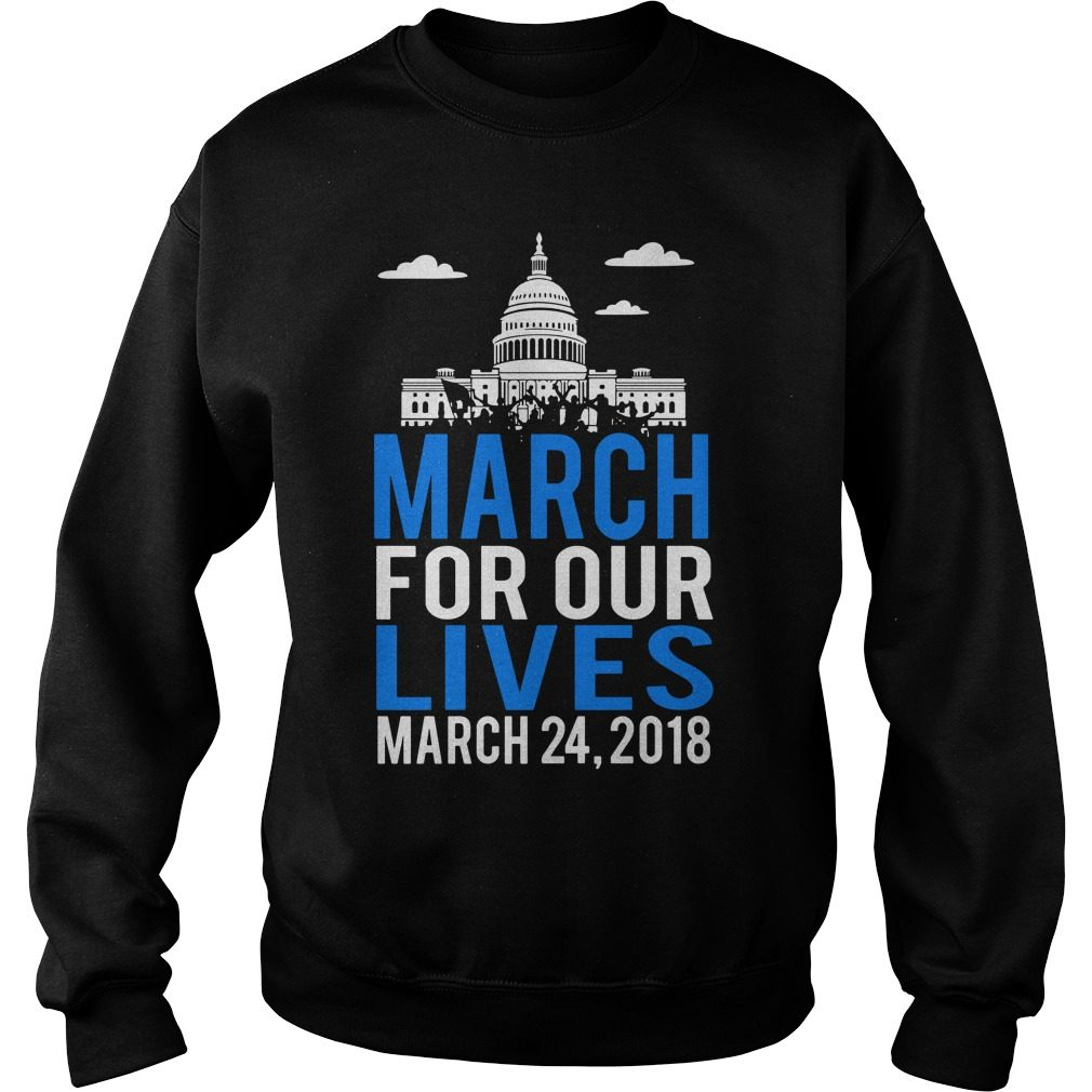 Official March Lives March 24 2018 Sweater