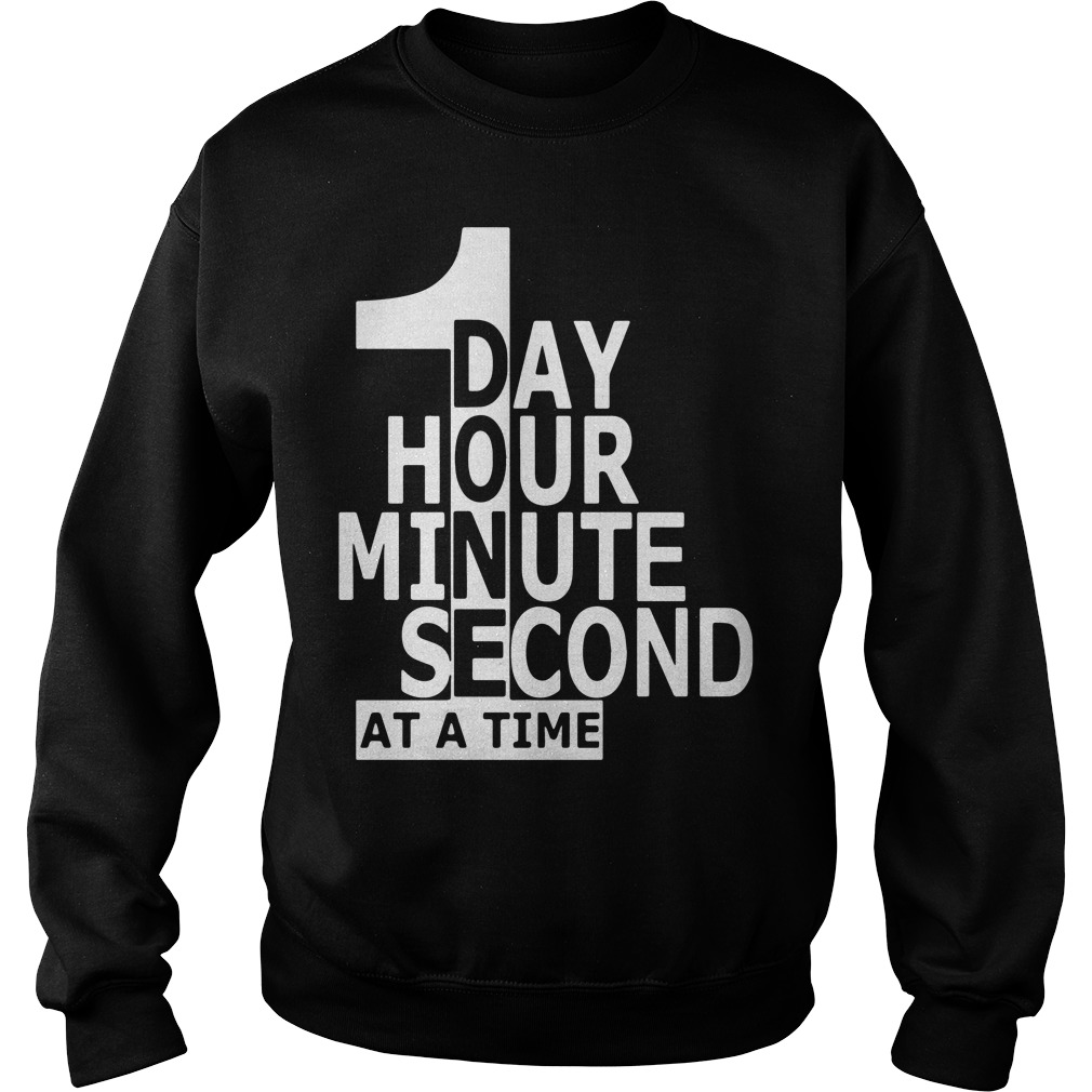 One Day Hour Minute Second Time Sweater