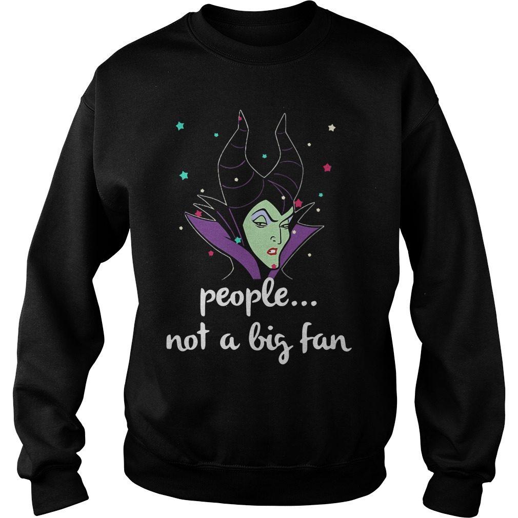 People Not A Big Fan Maleficent Sweater