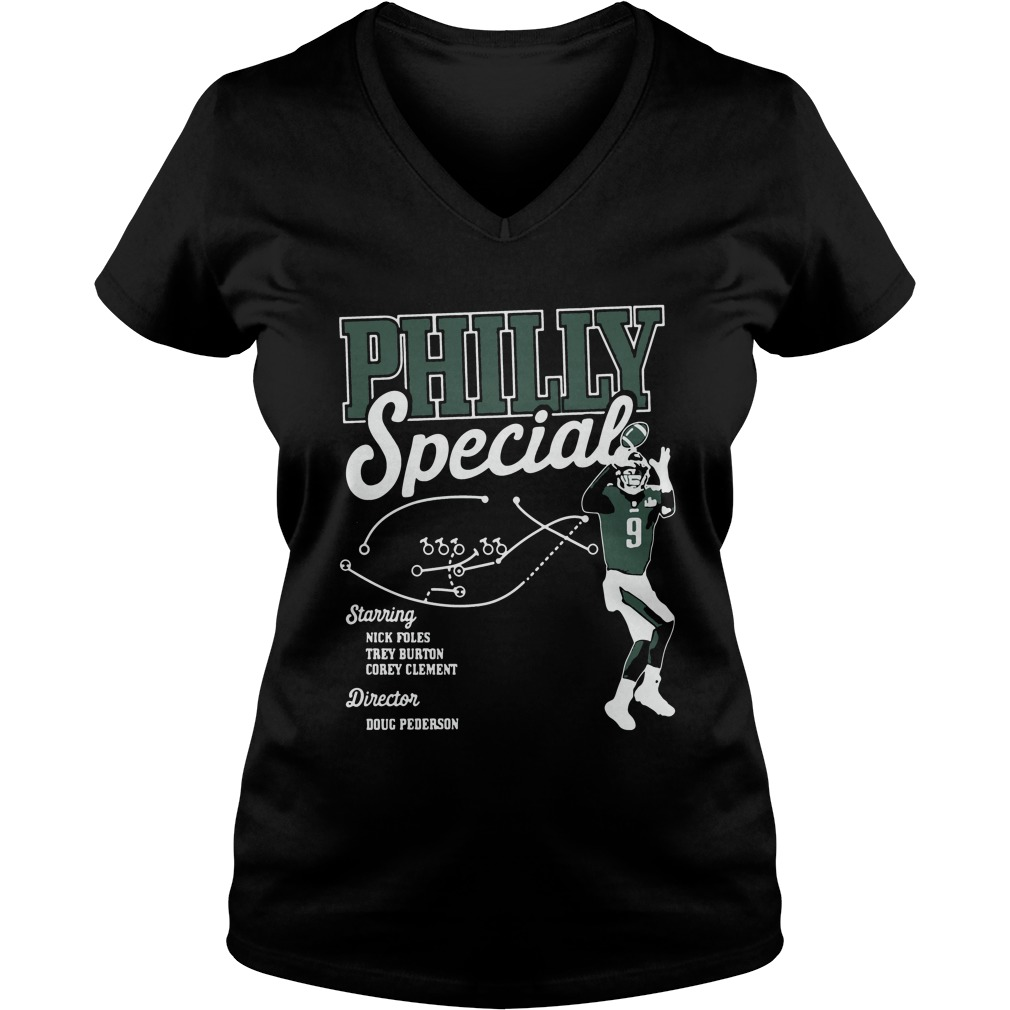 Philadelphia Eagles Professional Sports Team V Neck T Shirt