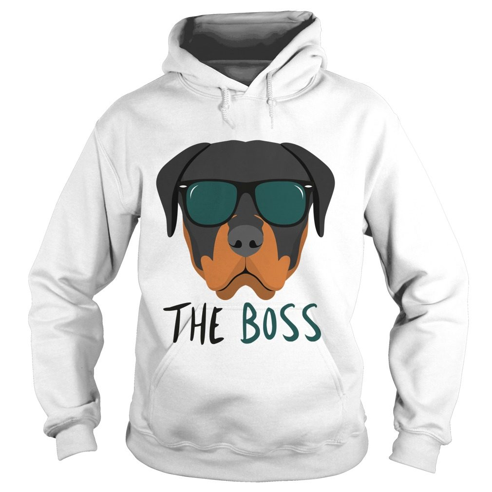 Rottweiler Rottie Boss Hoodie