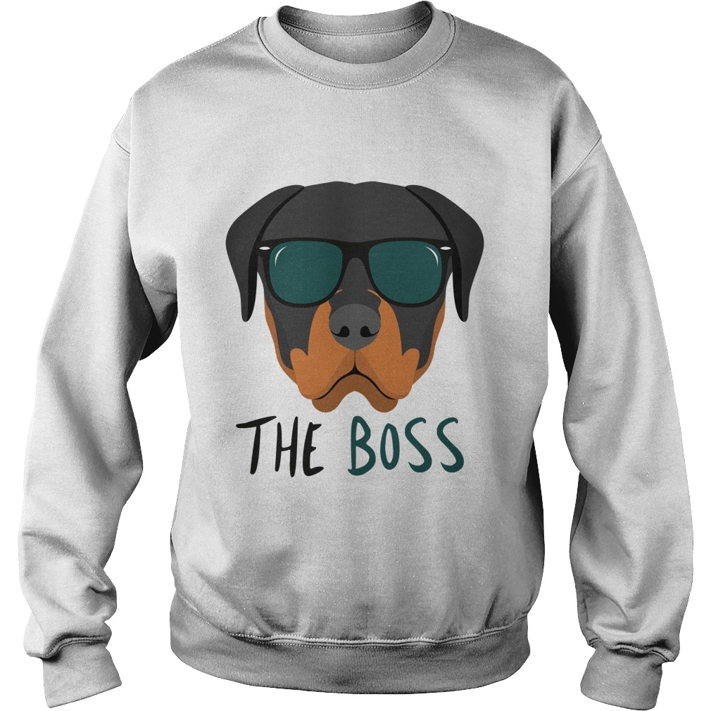 Rottweiler Rottie Boss Sweater