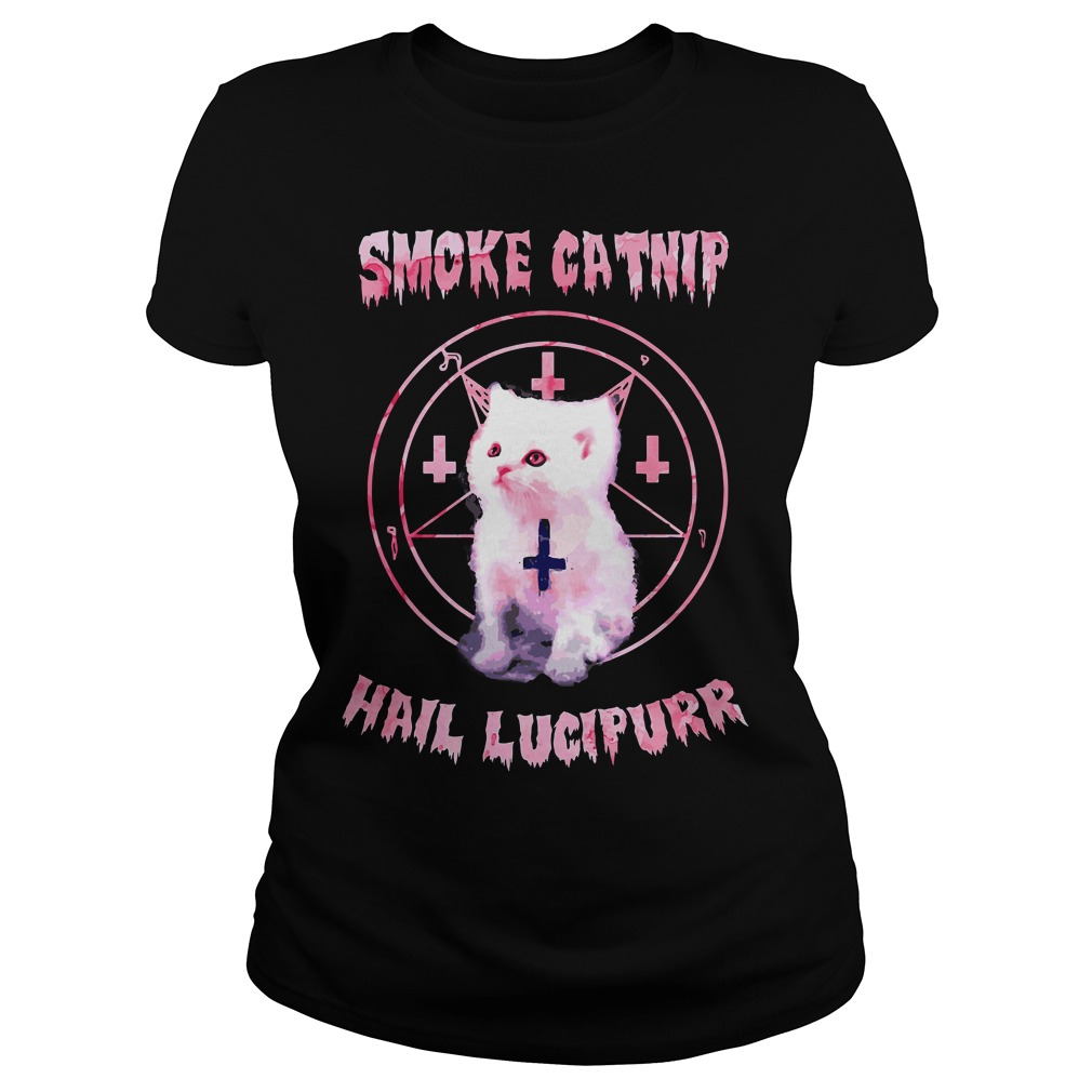 Smoke Catnip Hail Lucipurr Ladies Tee