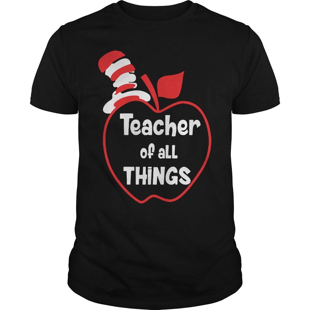 Teacher Things Guys Shirt