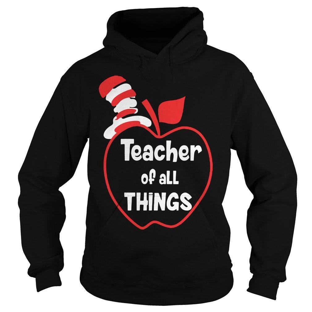 Teacher Things Hoodie