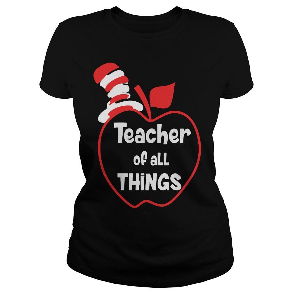 Teacher Things Ladies Tee