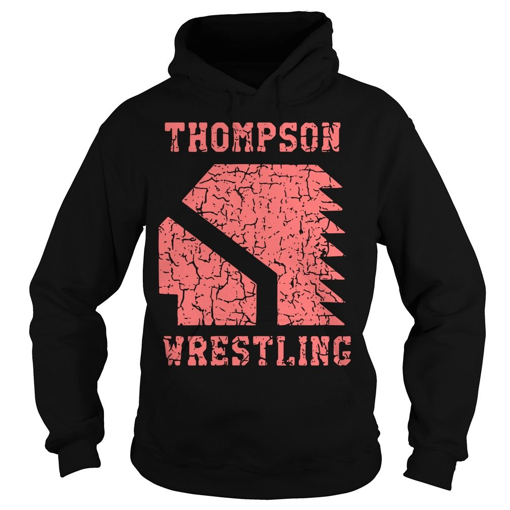 Thompson High School Wrestling Hoodie