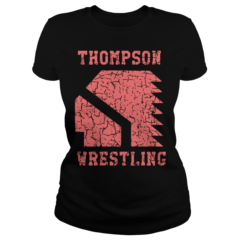 Thompson High School Wrestling Ladies Tee