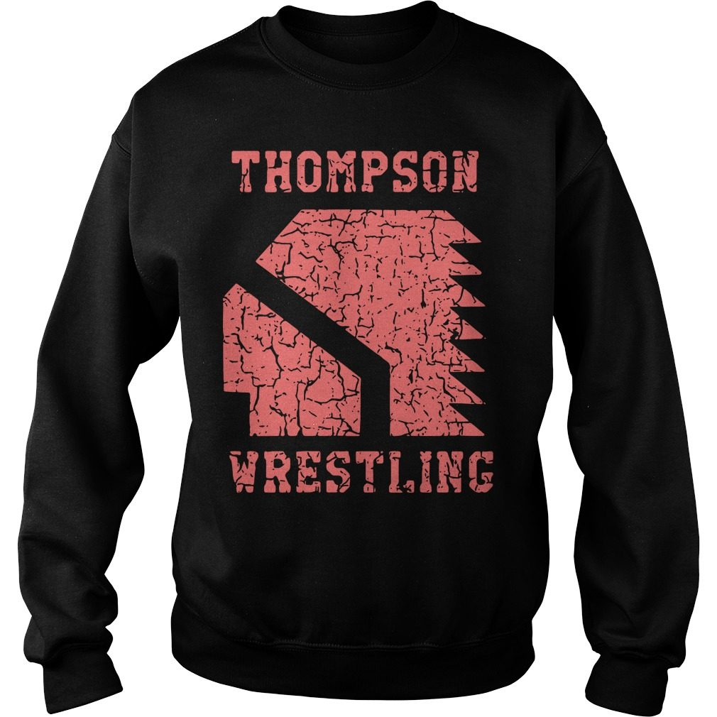 Thompson High School Wrestling Sweater