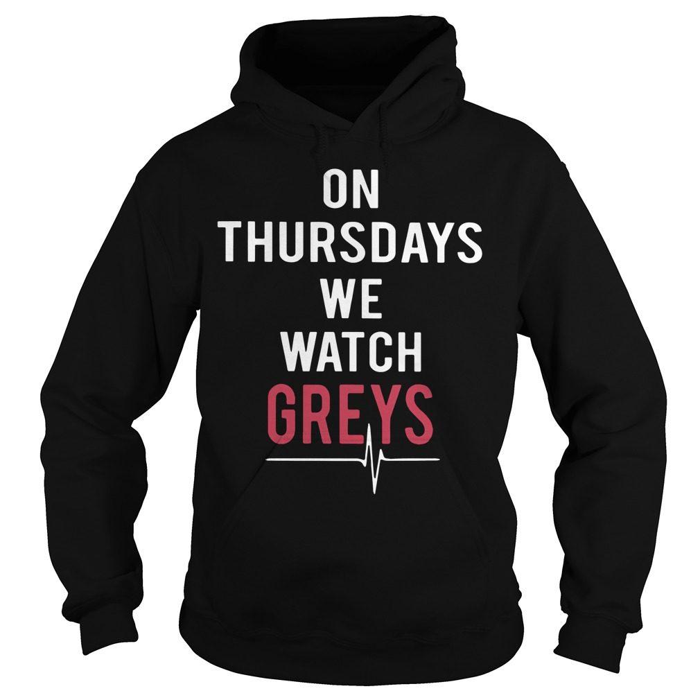 Thursdays Watch Greys Hoodie
