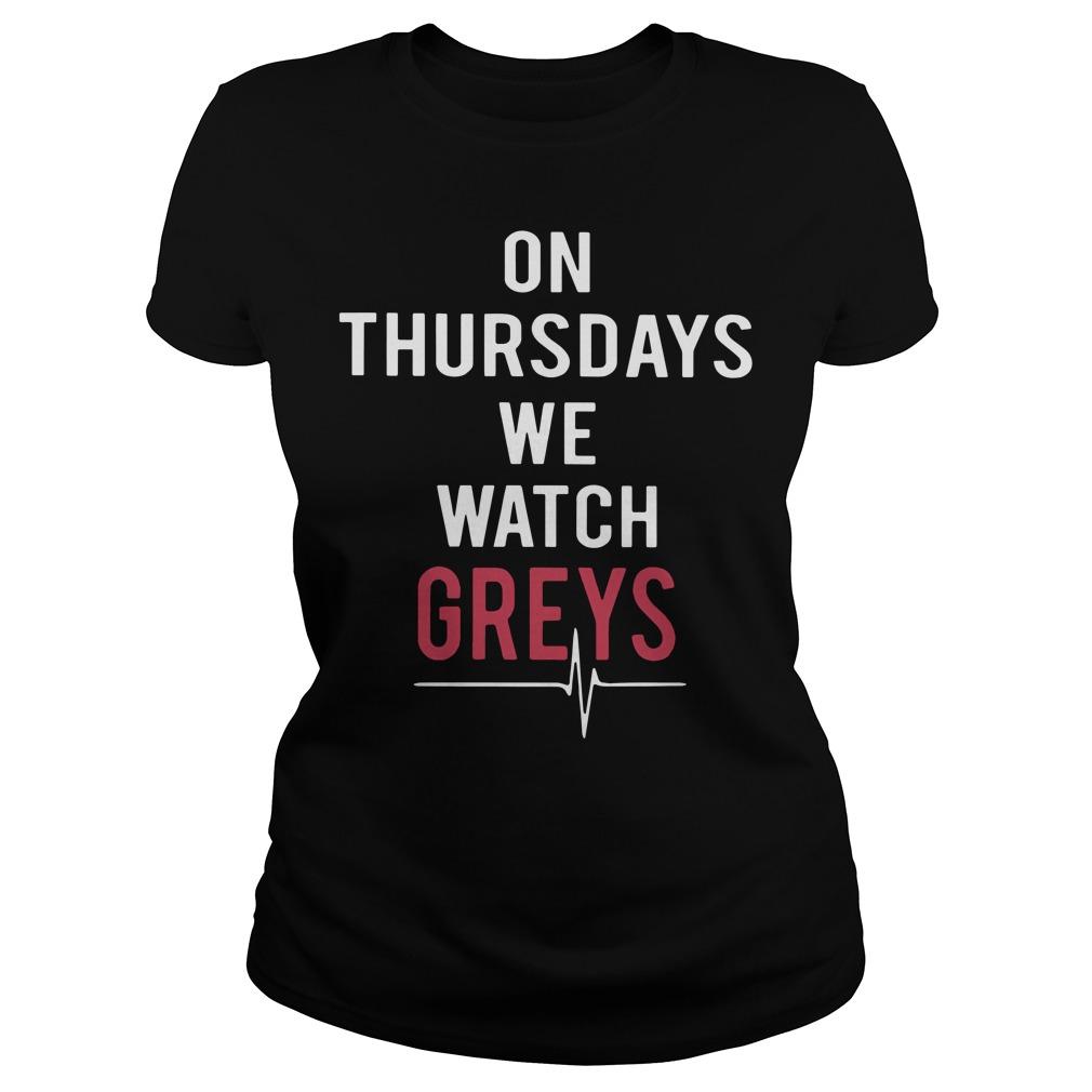 Thursdays Watch Greys Ladies Tee