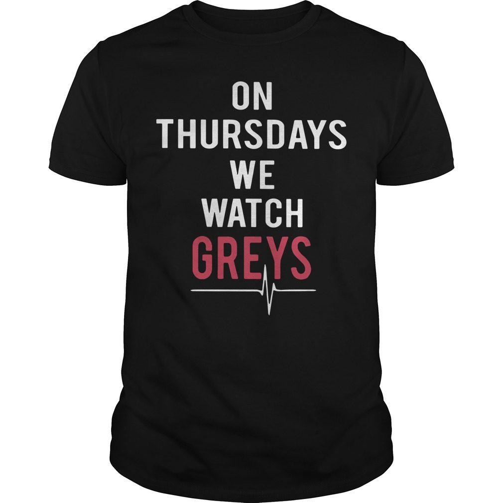 Thursdays Watch Greys Shirt
