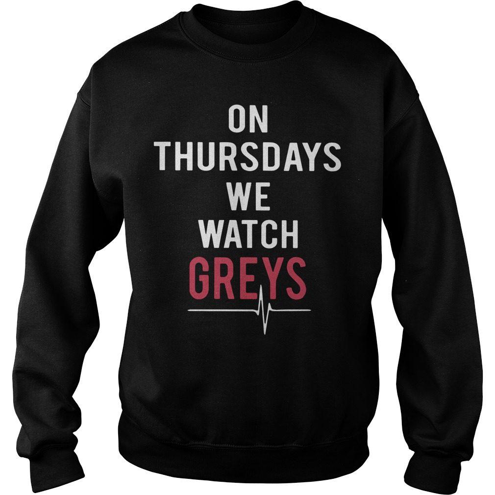 Thursdays Watch Greys Sweater