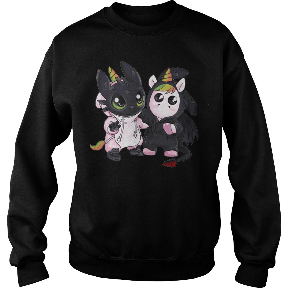 Toothless Unicorn Sweater