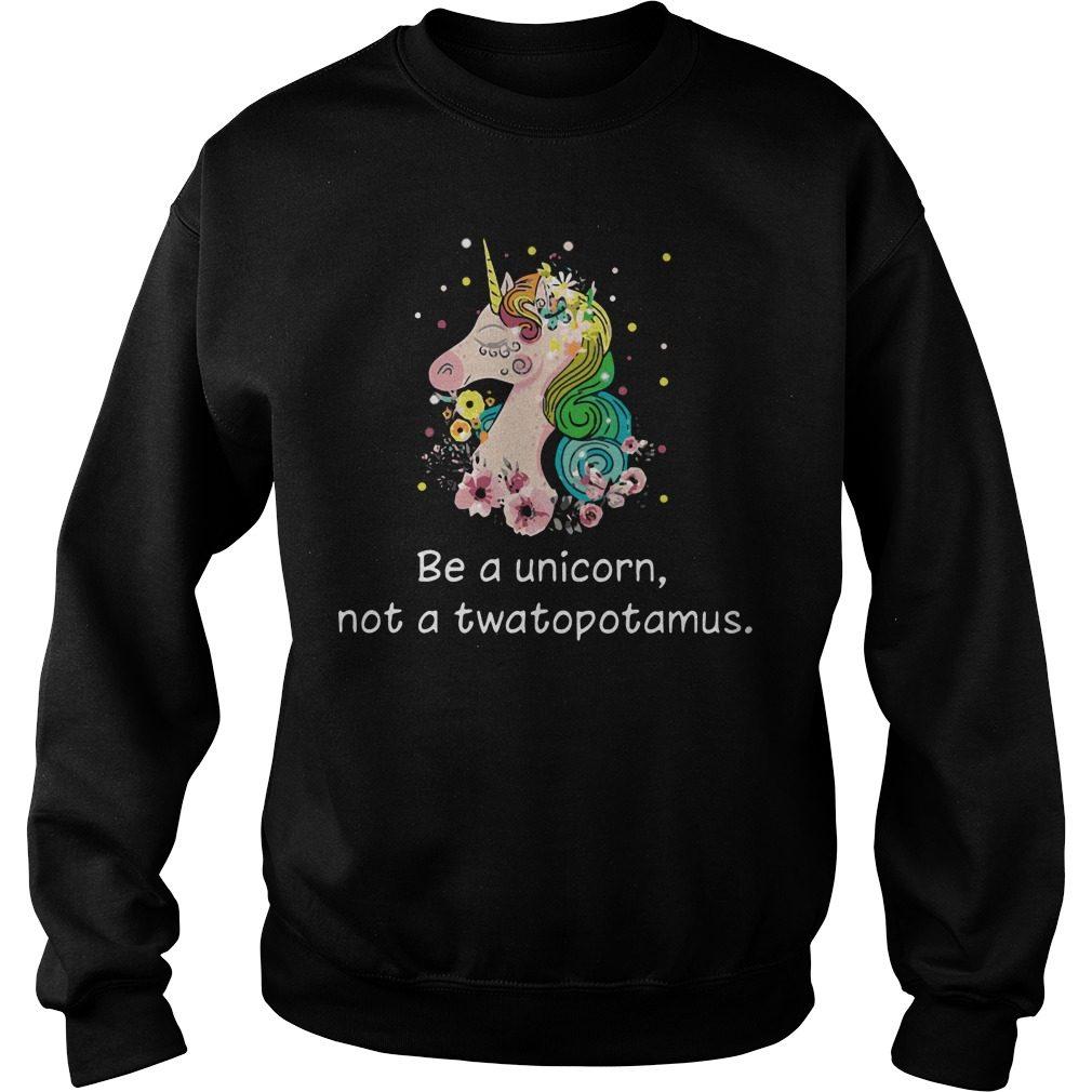 Unicorn Not Twatopotamus Sweater