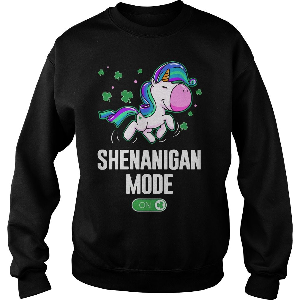 Unicorn Shenanigan Mode On Sweater