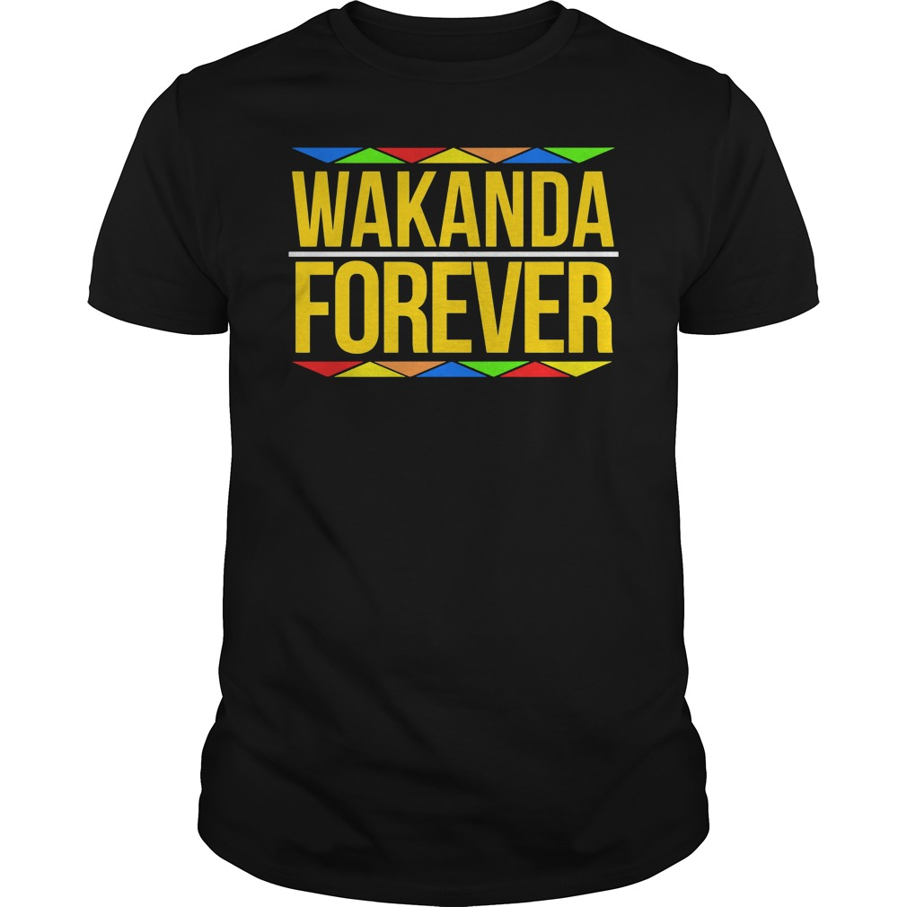 Wakanda Forever Black Panther Movie Premiere Black History Month Shirt