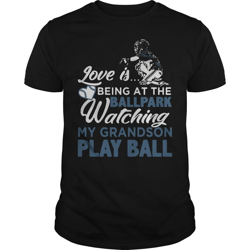 Watching Grandson Play Ball Shirt