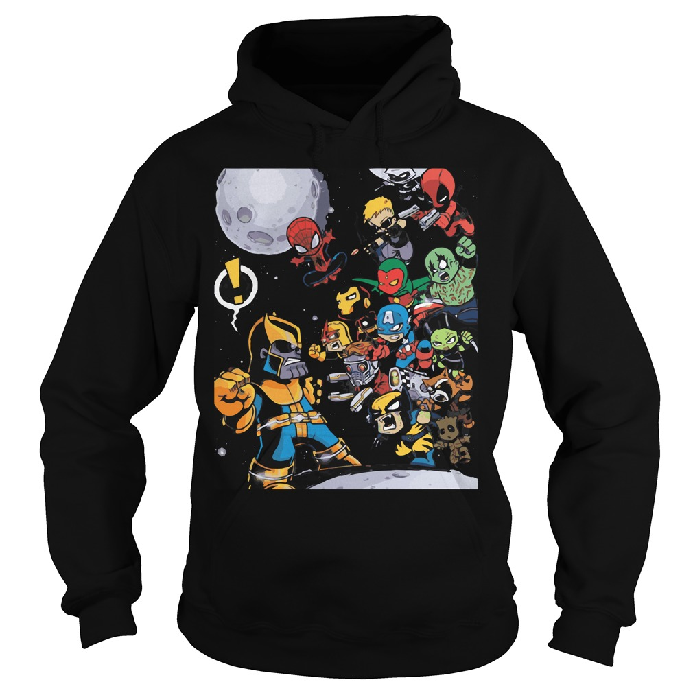 Avengers Infinity War 2018 Movie Hoodie