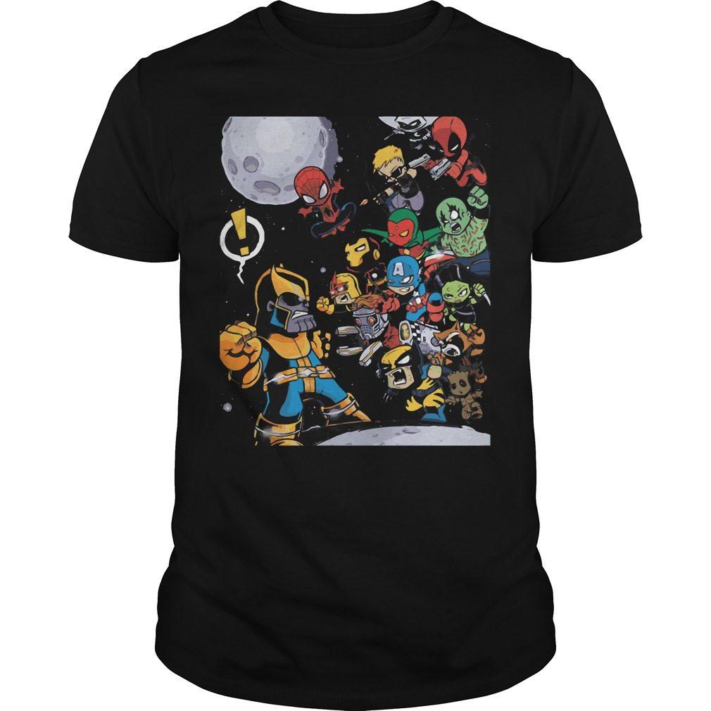 Avengers Infinity War 2018 Movie Shirt