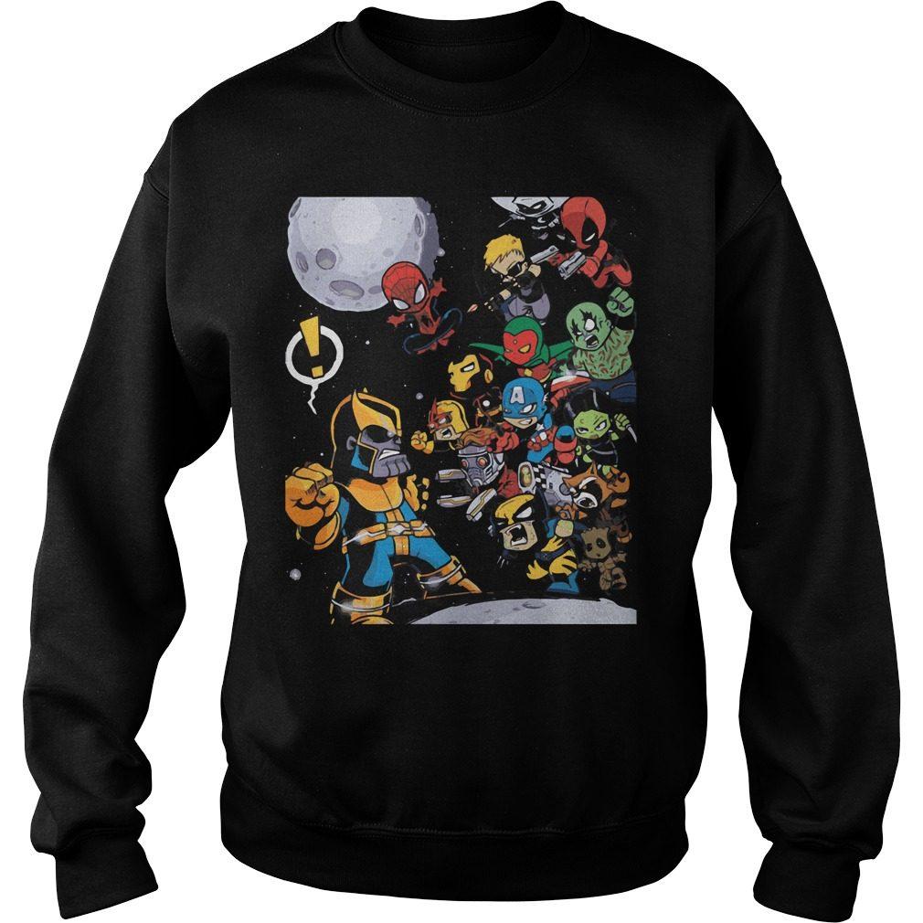 Avengers Infinity War 2018 Movie Sweater