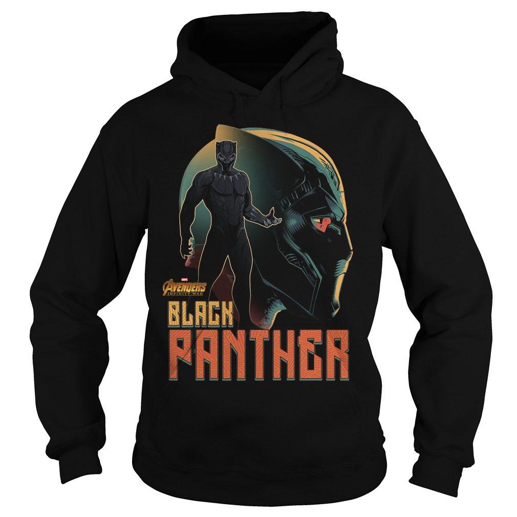 Avengers Infinity War Black Panther Hoodie