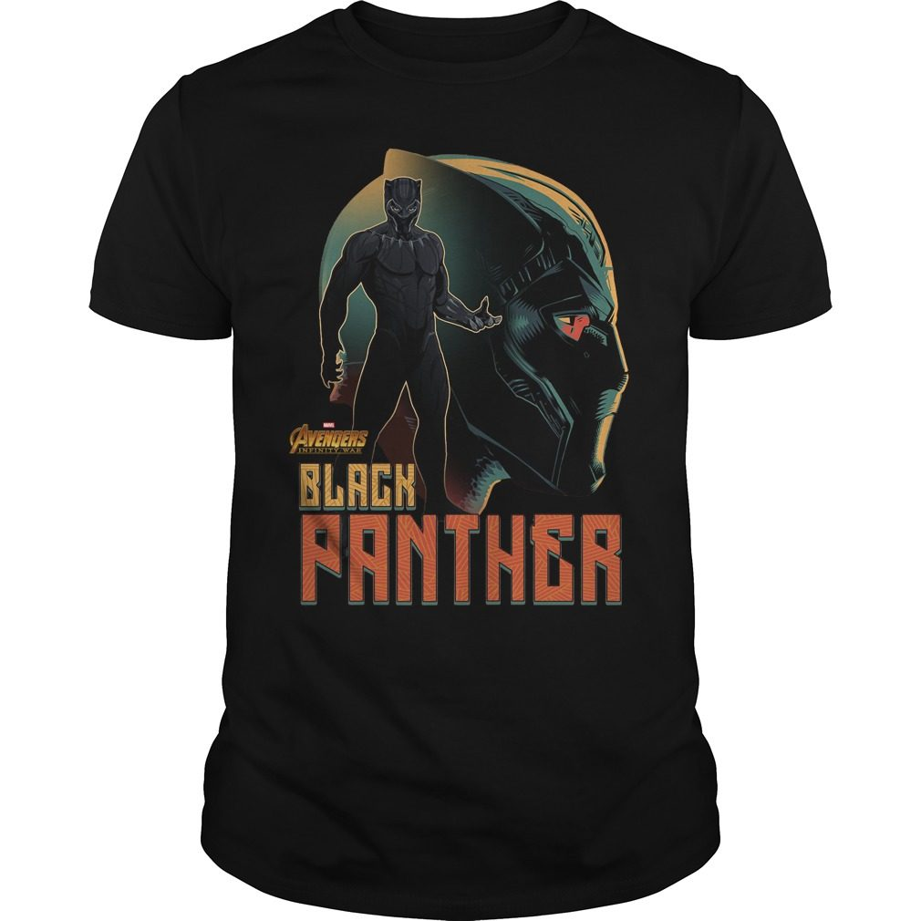 Avengers Infinity War Black Panther Shirt