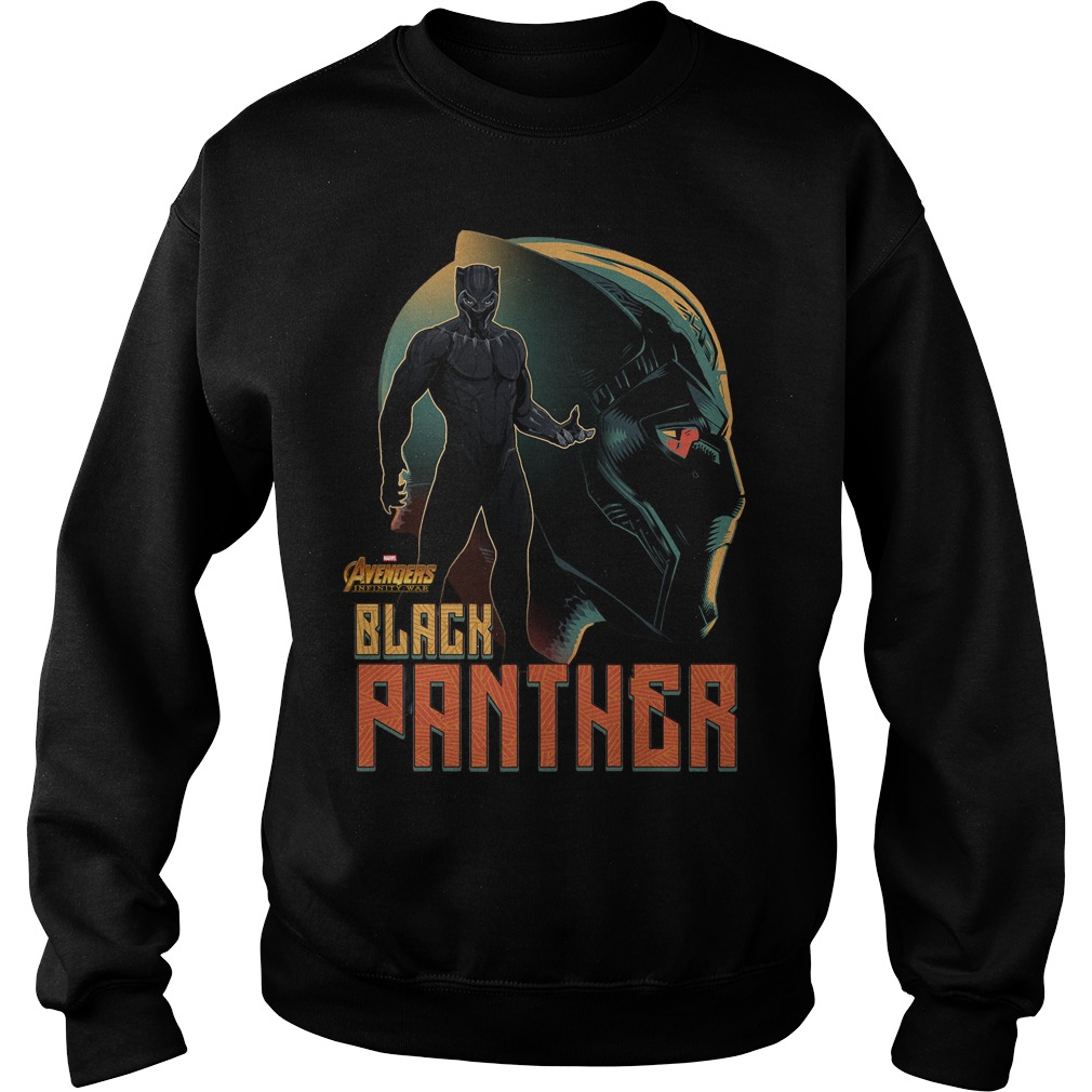 Avengers Infinity War Black Panther Sweater