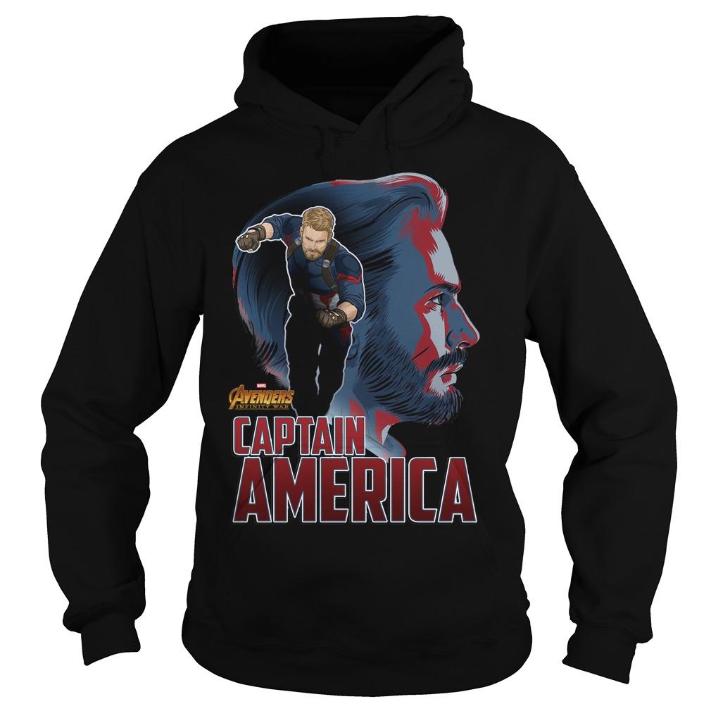 Avengers Infinity War Captain America Hoodie