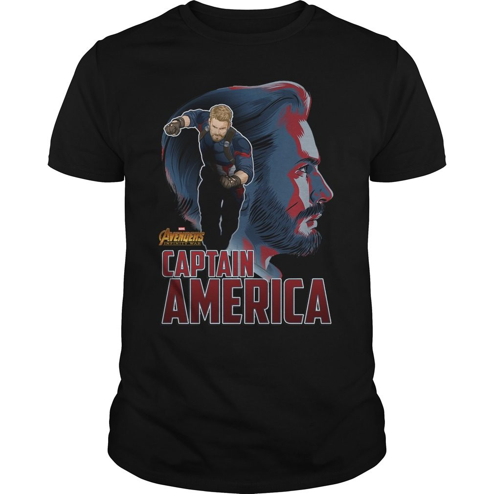 Avengers Infinity War Captain America Shirt