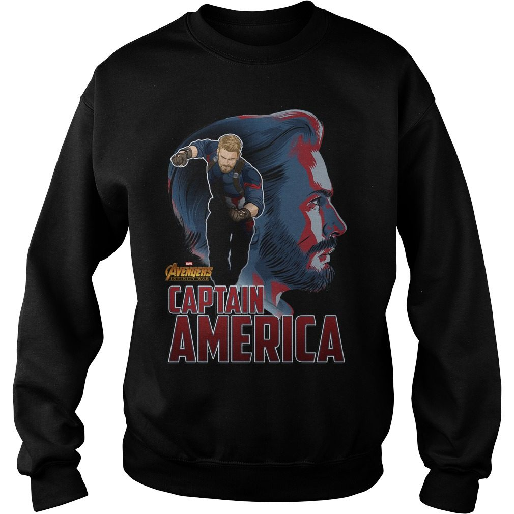 Avengers Infinity War Captain America Sweater
