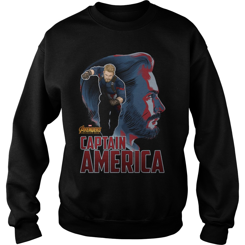 Avengers Infinity War Captain America Sweater