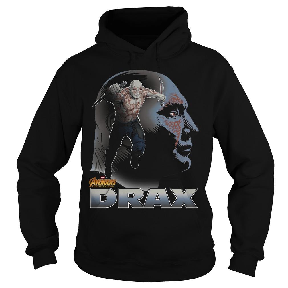 Avengers Infinity War Drax Hoodie