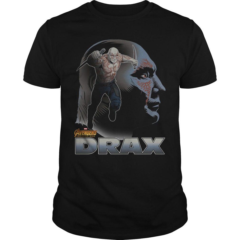 Avengers Infinity War Drax Shirt