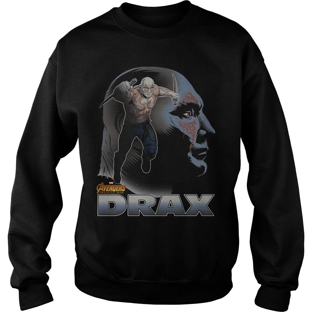 Avengers Infinity War Drax Sweater