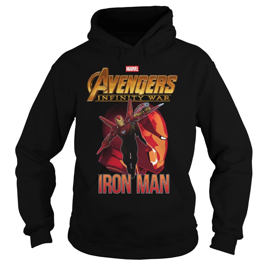 Avengers Infinity War Iron Man Hoodie