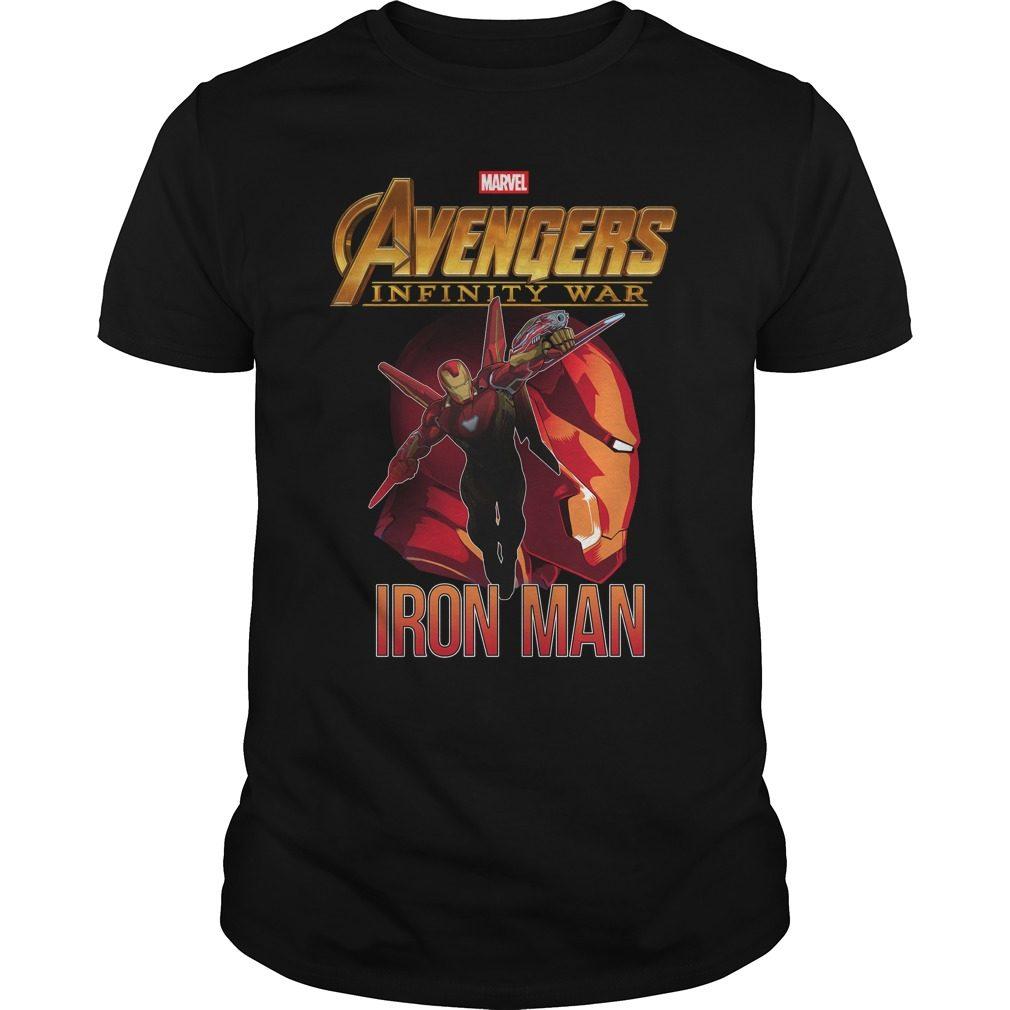 Avengers Infinity War Iron Man Shirt