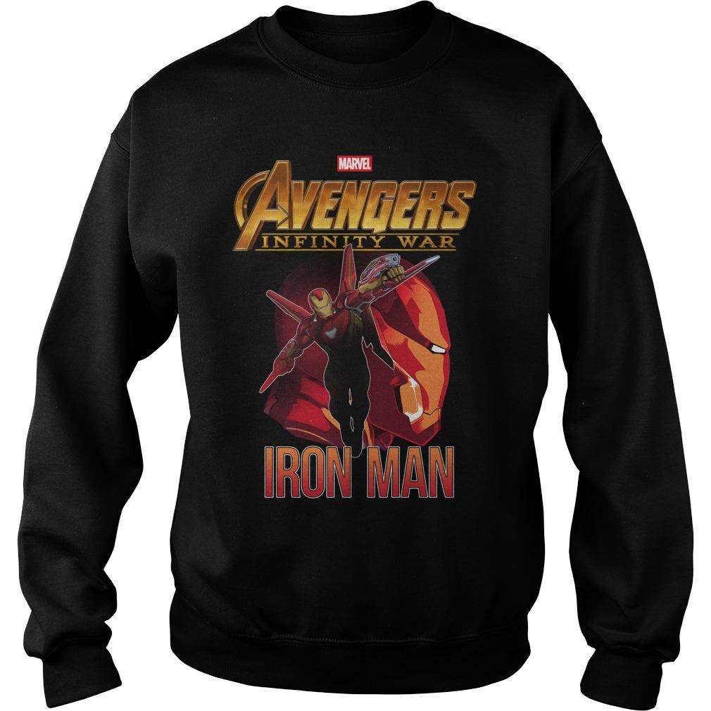 Avengers Infinity War Iron Man Sweater