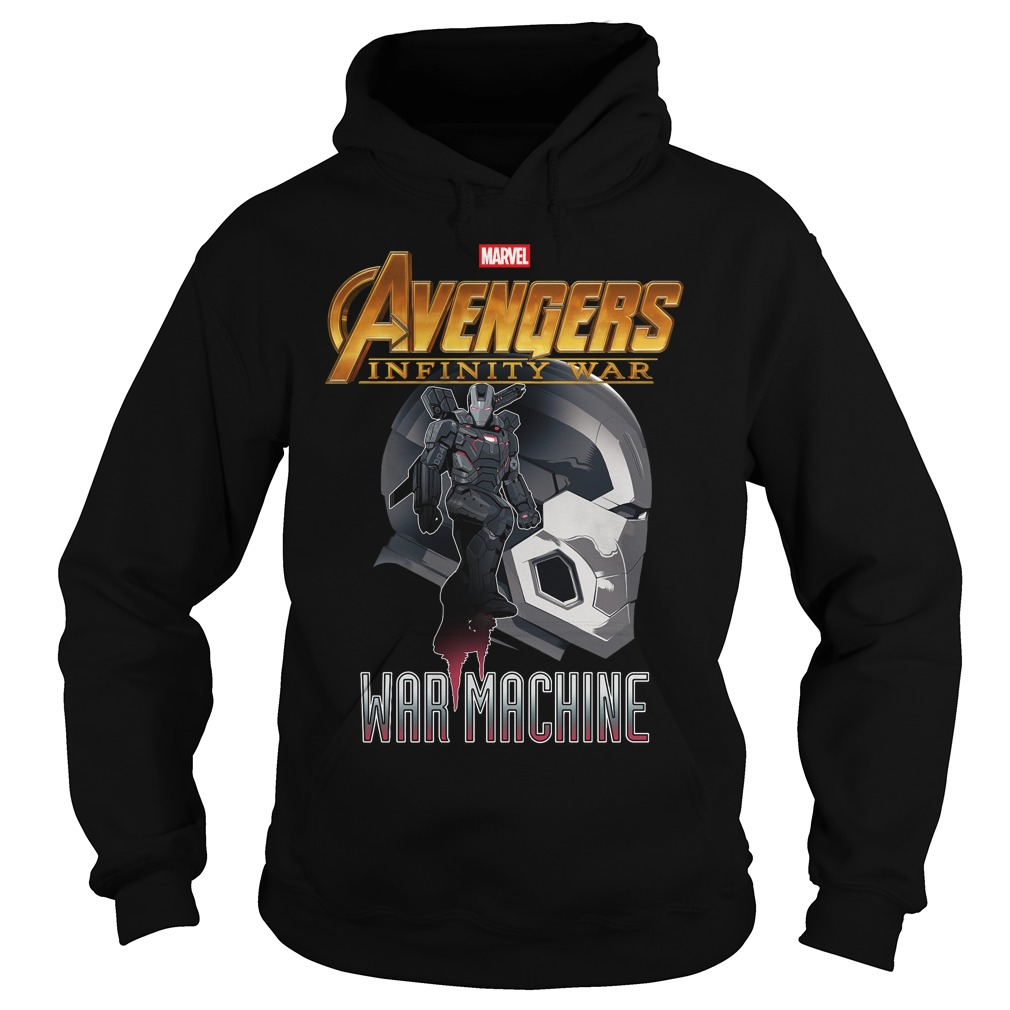 Avengers Infinity War Iron Man War Machine Hoodie