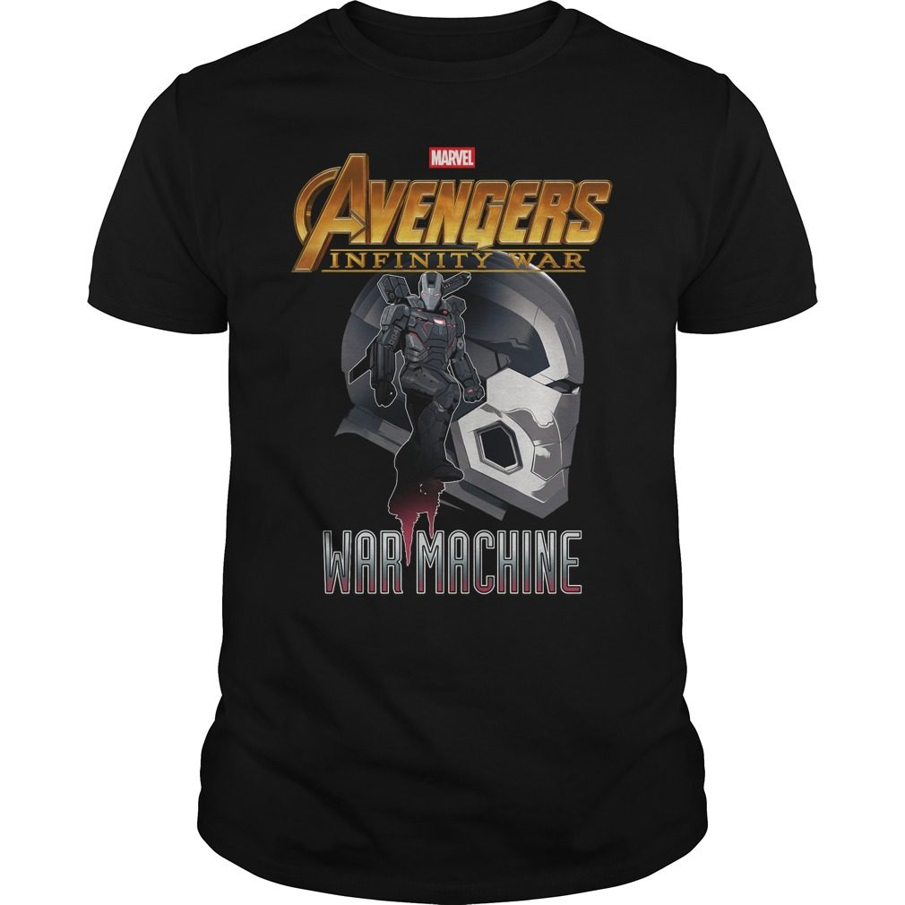 Avengers Infinity War Iron Man War Machine Shirt
