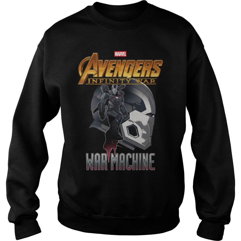 Avengers Infinity War Iron Man War Machine Sweater