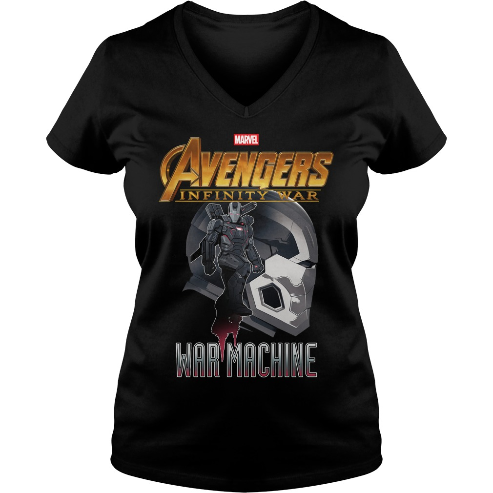 Avengers Infinity War Iron Man War Machine V Neck T Shirt