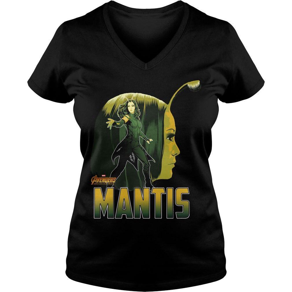 Avengers Infinity War Mantis V Neck T Shirt