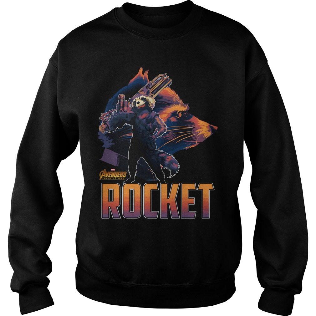 Avengers Infinity War Rocket Sweater
