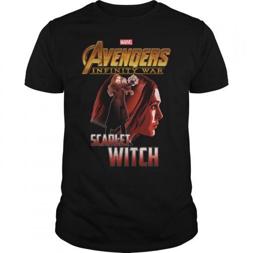 Avengers Infinity War Scarlet Witch Guys Shirt